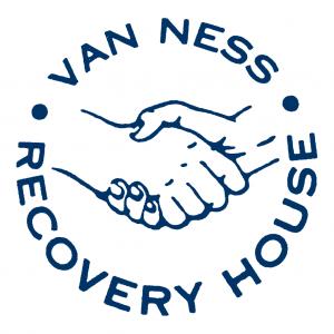 Van Ness Logo-Blue on White