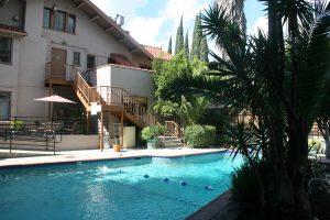 Backyard/ Pool Area